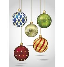 ornaments hanging vector images 7 400