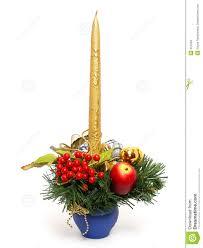 christmas candle stock photo image 251240