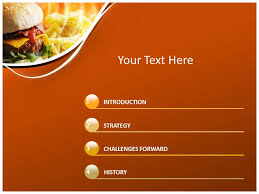 Best Photos Of Food Powerpoint Templates Fast Food Powerpoint Fast Food Ppt