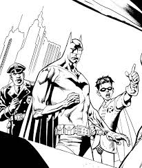 kevin nowlan batman and robin ink preview