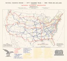 United States Highway Map by Map Us Highways Map Images Us Highway Map Mapsofnet Usa Highway