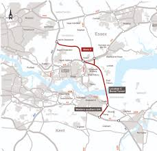 Essex England Map by Improvements And Major Road Projects Lower Thames Crossing