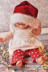 baby christmas 40 adorable baby christmas picture ideas santa baby