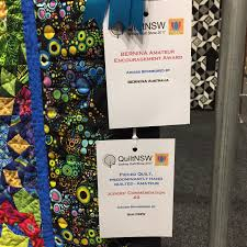 wendy u0027s quilts and more quiltnsw sydney quilt show i u0027m a winner