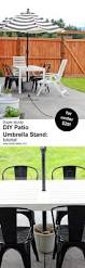 Southern Patio Umbrella by Best 25 Patio Umbrella Stand Ideas On Pinterest Diy Umbrella