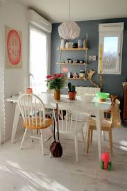 Kitchen And Dining Room Colors by Best 25 Colorful Kitchen Tables Ideas On Pinterest Diy Dinning