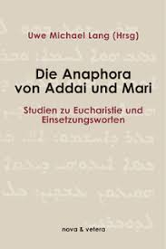 rorate cæli declaration on the anaphora of addai and mari not an