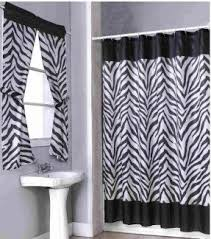 Black And White Window Curtains Animal Print Window Curtains Foter