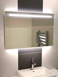 illuminated bathroom mirrors led astonishing backlit mirror modren