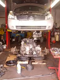 nissan maxima whining noise engine and transmission down to get to the timing chain nissan