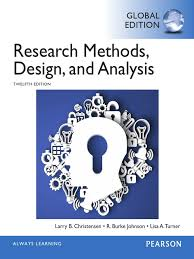 research methods design and analysis 12th edition 2015 larry b