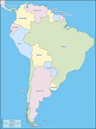 Map Of Latin America With Capitals by Map Of South America Facts U0026 Information Beautiful World