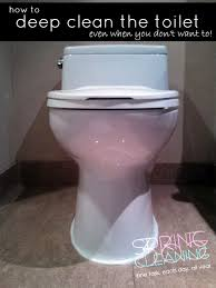 how to deep clean how to deep clean the toilet even when you don t want to i