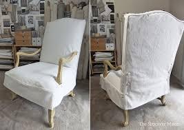 slipcover for chair canvas slipcover for chair the slipcover maker