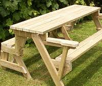Folding Picnic Table Instructions by Buildeazy 5 Downloadable Woodworking Plans Page 1