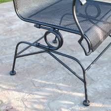 metal spring chair outdoor furniture