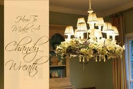 Grapevine Chandelier Miss Kopy Kat How To Make A Chandelier Wreath