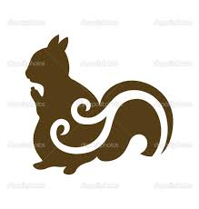 squirrel silhouette vector clipart panda free clipart images