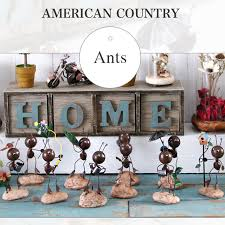 handicrafts for home decoration adorable cute iron ants crafts dolls figurines home decoration