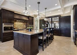 Kitchen Wall Colors With Dark Brown Cabinets Kitchen Decoration