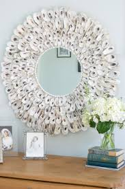 easy to make oyster shell mirror u2022 nourish and nestle