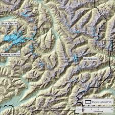 Little Creek Base Map Glaciers Of Washington Glaciers Of The American West