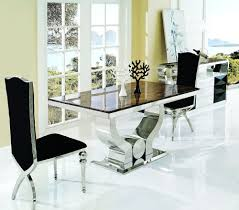 High Top Dining Room Sets Beautiful Marble Dining Room Table And Chairs Pictures