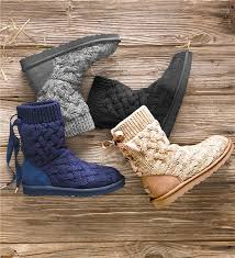 ugg sweater slippers sale ugg australia isla knit boots ugg boots plow hearth