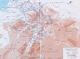 World War 1 Map Of Europe Battle Of Kassel 1945 Wikipedia