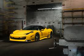 ferrari custom paint dub magazine mc customs ferrari 458 italia