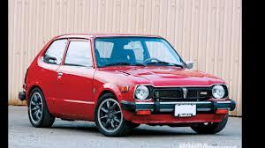 Civic 1980 Honda Civic 1975 1979 Youtube