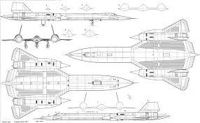 lockheed sr 71 blackbird blueprint download free blueprint for
