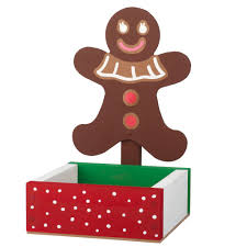 make a gingerbread man candy dish free kids workshop at home