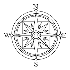 clip art compass rose within coloring pages eson me