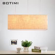 Linen Pendant Light Botimi Nordic American Linen Pendant Lights Modern Restaurant L