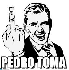 Pedro Meme - pedro toma 1950s middle finger meme on memegen