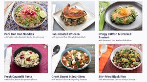a week of meals with blue apron peanut butter runner