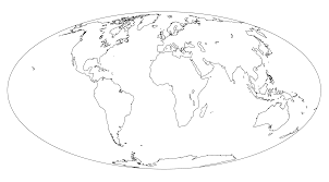 Blank World Map Of Continents by Untitled Document