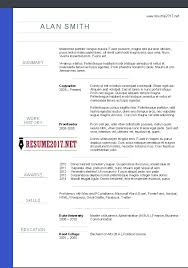 chronological resume template download chronological cv