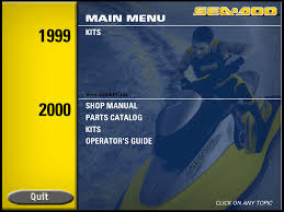 100 seadoo 2011 service manual bombardier sea doo 1999 2000