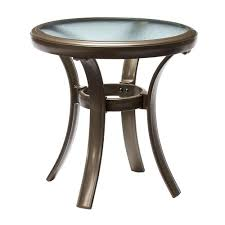 Patio Side Tables Metal Patio Side Table Metal Crosley Retro White Biophilessurf Info