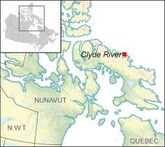Canada On A Map Clyde River U0027s Community Climate Change Adaptation Plan Natural