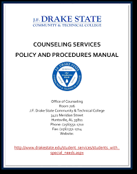 drake state community and technical college counseling services