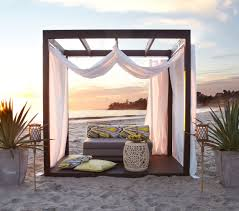 sensational design ideas cabana curtains pool cabana curtains for