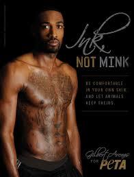 gilbert arenas u0027 peta photos shirtless pictures tattoos and more