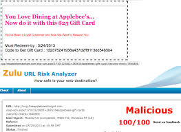 applebee gift card the daily scam gift card scams