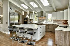 modern rustic wood kitchen cabinets modern rustic kitchen with white gloss and gray cabinets