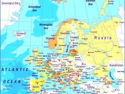 Azores Map Show Map Of Europe With All Countries All World Maps