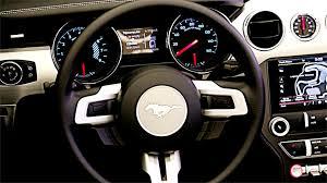 2013 Ford Mustang Interior New 2015 Ford Mustang Interior Youtube