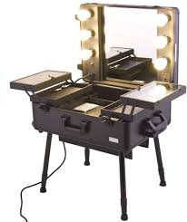 professional makeup lighting portable maylan makeup stand with pro studio artist trolley and